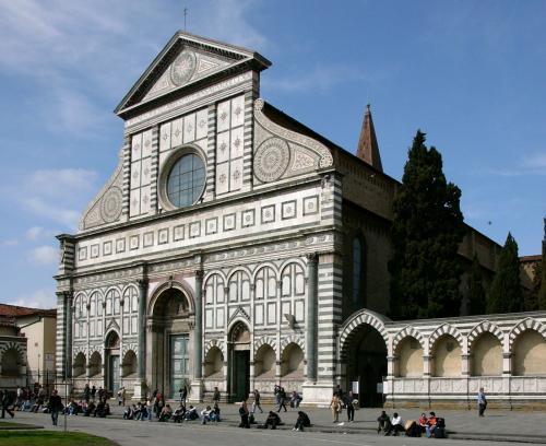 フィレンツェの美術 サンタ・マリア・ノヴェッラ教会とサンタ・クローチェ教会