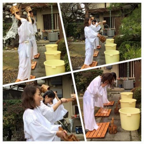本昌寺での水行体験と薬膳粥