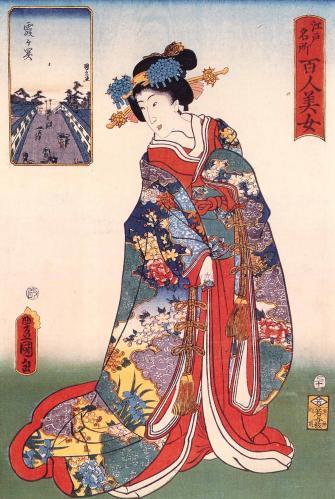 浮世絵に見る江戸美人のよそおい