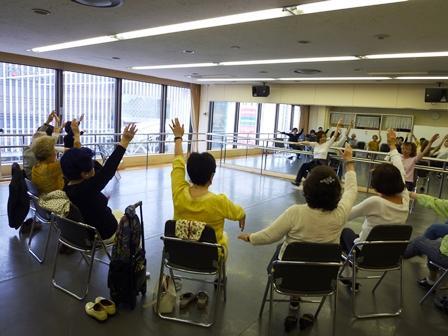 腰掛タップダンス