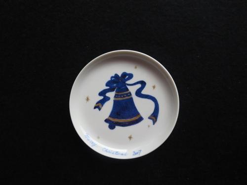 クリスマスベルの小皿