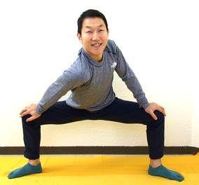 介護予防の「股関節スローストレッチ」