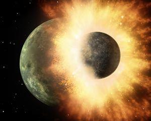 4D立体映像でとらえる大宇宙の姿と地球が受けてきた天災
