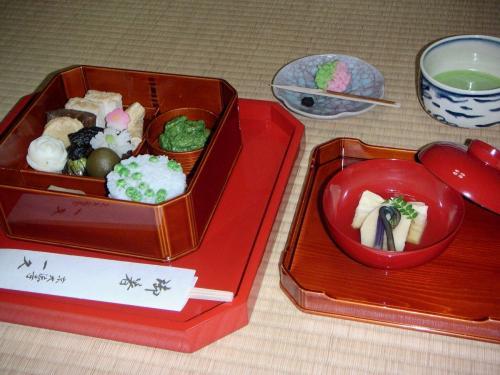 京都精進料理巡り 大徳寺大仙院と一久の精進料理