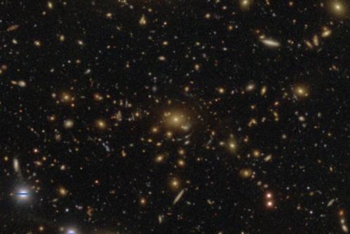 暗黒物質分布を調べる