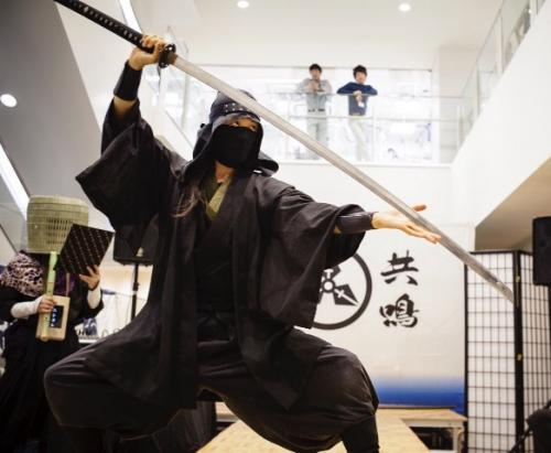 忍者と学ぶ心身忍術 江戸隠密武蔵一族