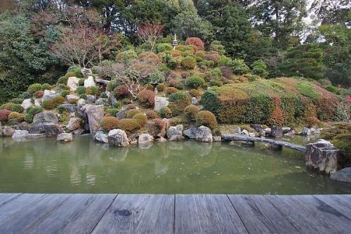 京の庭を楽しむ
