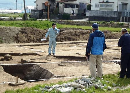 発掘!古代・中世の福岡 重留遺跡の広形銅矛