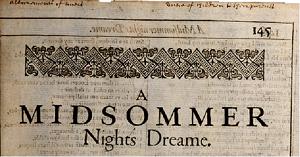 シェイクスピア「夏の夜の夢」の魅力