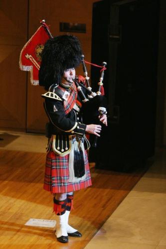 レクチャー&コンサート バグパイプを味わう スコットランドの音色