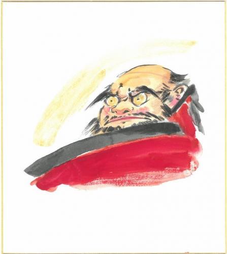 癒しの禅画「達磨」を描く~日本画体験
