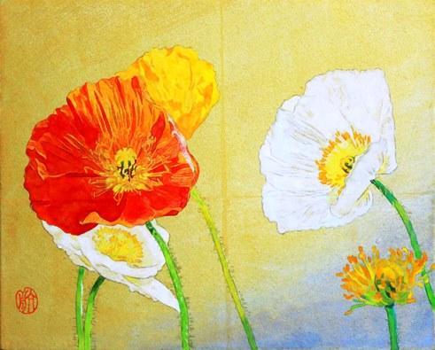スケッチに役立つ花の描き方