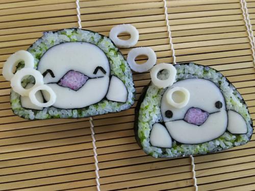 家族で楽しむ飾り巻き寿司(お一人様用)