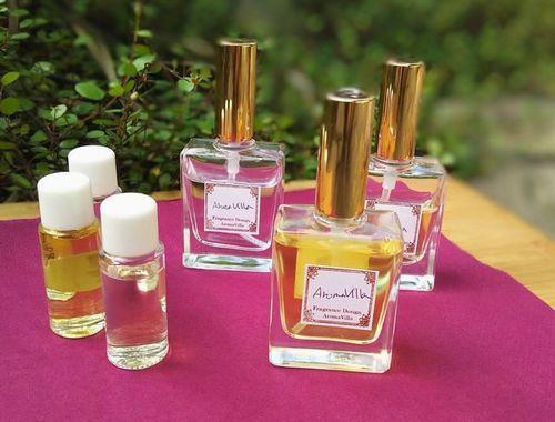 天然香料で創る秋のフレグランス