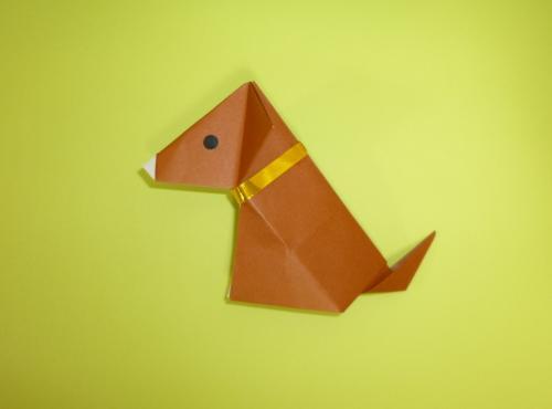 干支・犬の折り紙