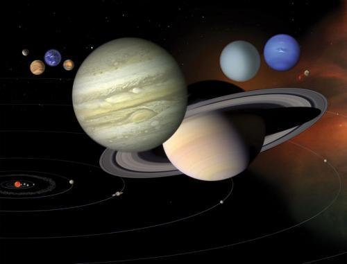 4D映像を見て学ぶ大宇宙と太陽系のすがた