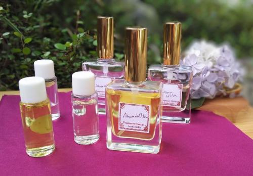 天然香料のフレグランスを作る