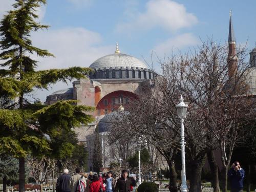 イスタンブールの聖ソフィア大聖堂