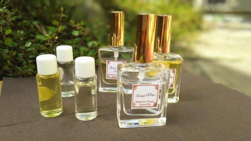 天然精油で作る 春のアロマ香水