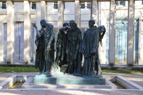 オーギュスト・ロダン《カレーの市民》1888年、ブロンズ、パリ、ロダン美術館