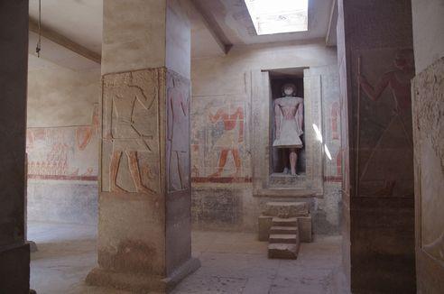 メレルカの墓(サッカラ:第6王朝)