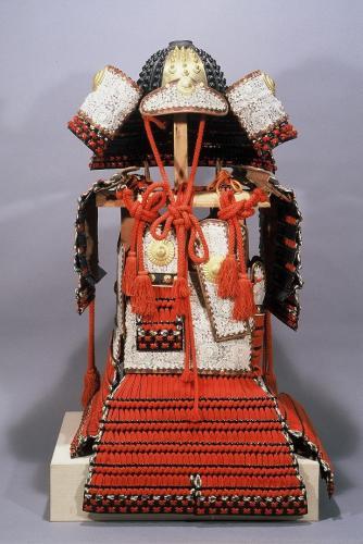 赤糸縅大鎧(復元)千葉市立郷土博物館蔵