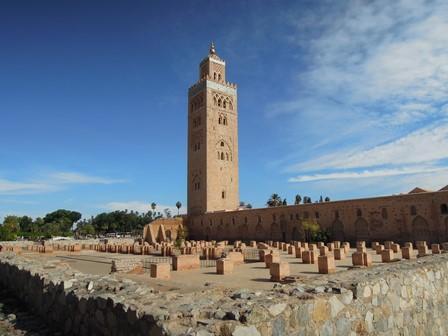 マラケシュ・クトゥビアの塔