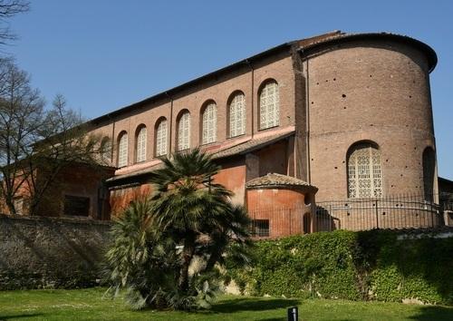 ローマの中世教会を巡る