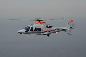 「ゆめどり」ヘリコプター