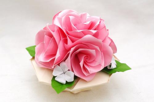 折り紙 立体 花
