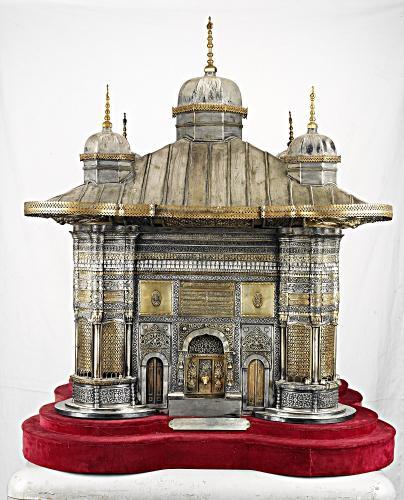 《スルタン・アフメト3世の施水場 模型》 1893年8月16日 トプカプ宮殿博物館蔵