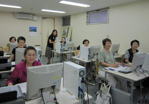渋谷教室風景