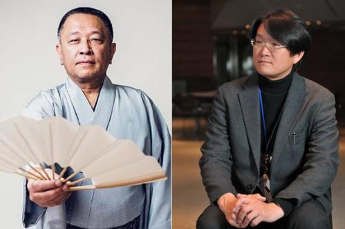 重夫さん(左)、抜井さん(右)