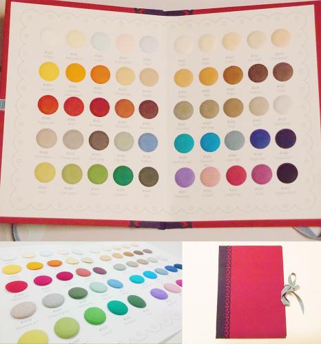 紙でつくる雑貨~50色のカラーサンプル帳
