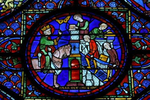 シャルルマーニュの窓