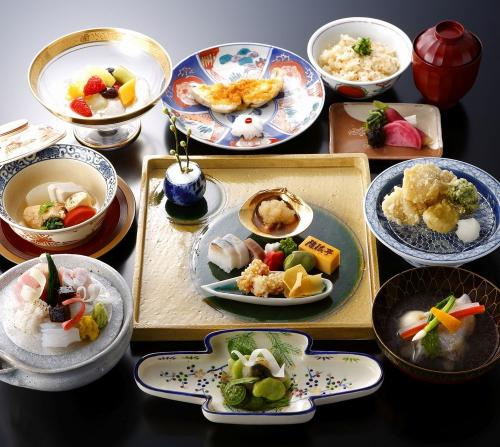 ホテルモントレグラスミア大阪「隨縁亭」で楽しむ 特別の会席料理