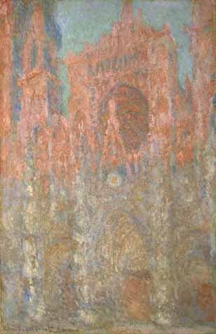 モネ「ルーアン大聖堂」1982年ポーラ美術館
