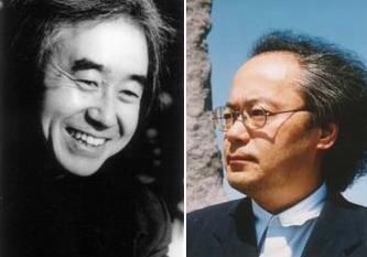 吉田文憲さん(左)野村 喜和夫さん
