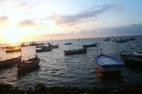マルサーラから見た海