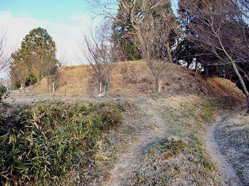 芥川山城の主郭
