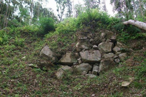 大手門の石垣