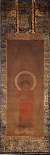 清浄華院 絹本著色阿弥陀三尊像(国宝)