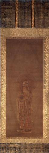清浄華院 絹本著色阿弥陀三尊像左脇侍