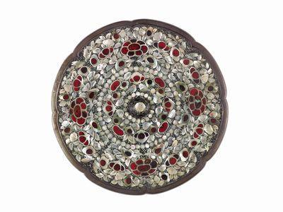 平螺鈿背八角鏡 唐時代・8世紀 正倉院宝物 【後期展示11月6日~24日】