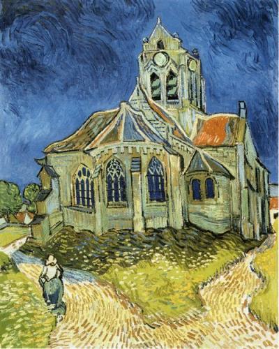 「オーヴェールの教会」