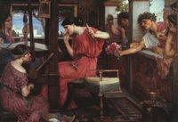 ペーネロペイアと求婚者たち