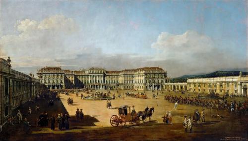 シェーンブルン宮殿 カナレット画 1759年