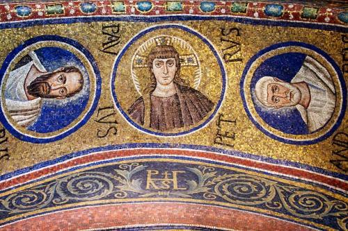 6世紀初頭《キリスト像》ラヴェンナ大司教礼拝堂
