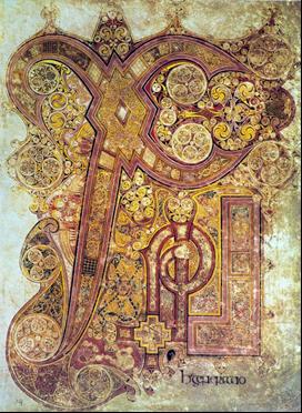 最も美しい本と呼ばれる800頃『ケルズの書』