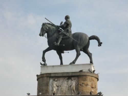 傭兵隊長ガッタメラータの騎馬像1(イタリア・パドヴァ)